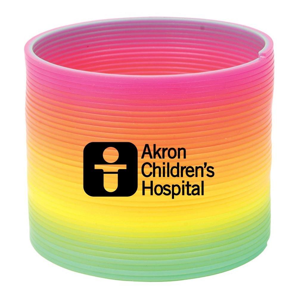 Round Rainbow Spring Toy