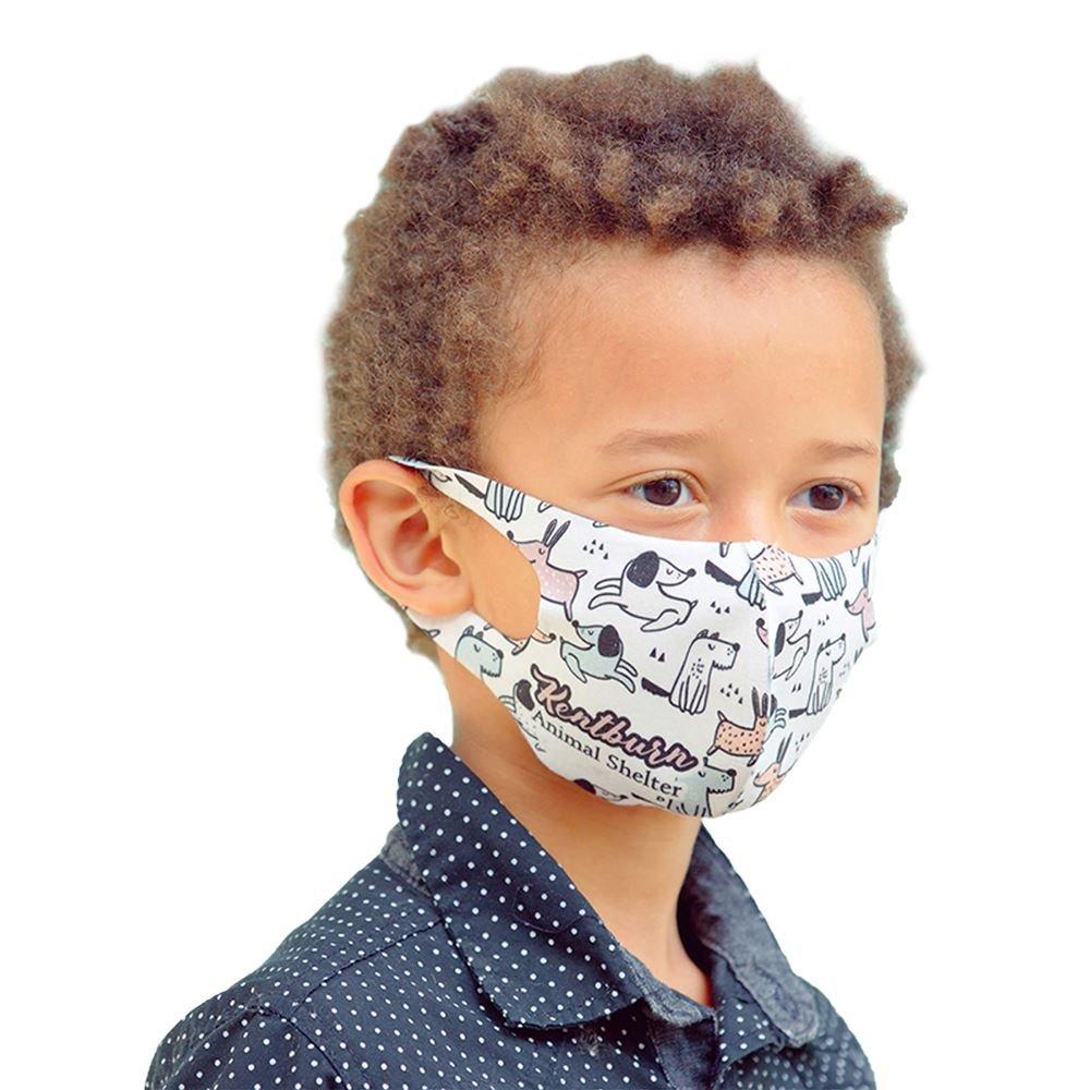 Sentinel Polyester Dye-Sub Face Mask For Children