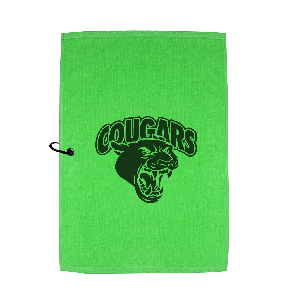 Cotton Sport Towel with Carabiner Clip