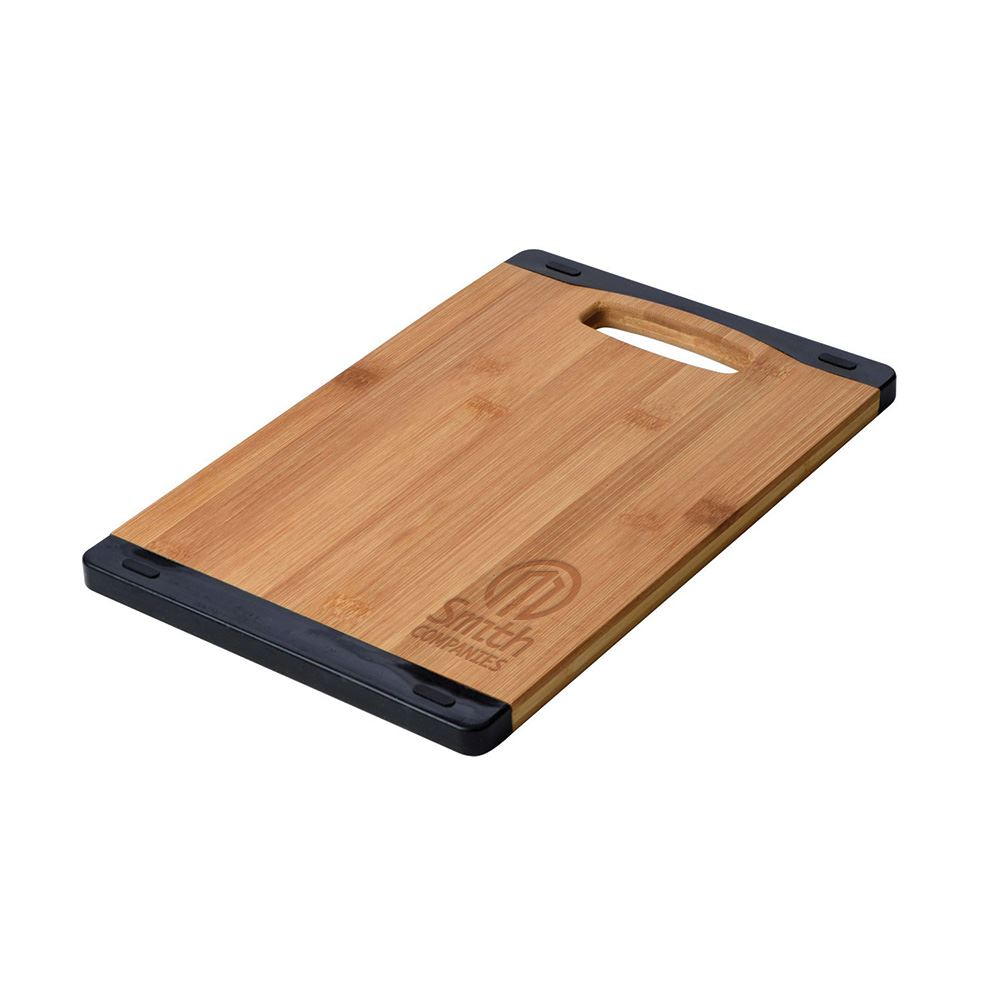 Bamboo and Silicone Cutting Board