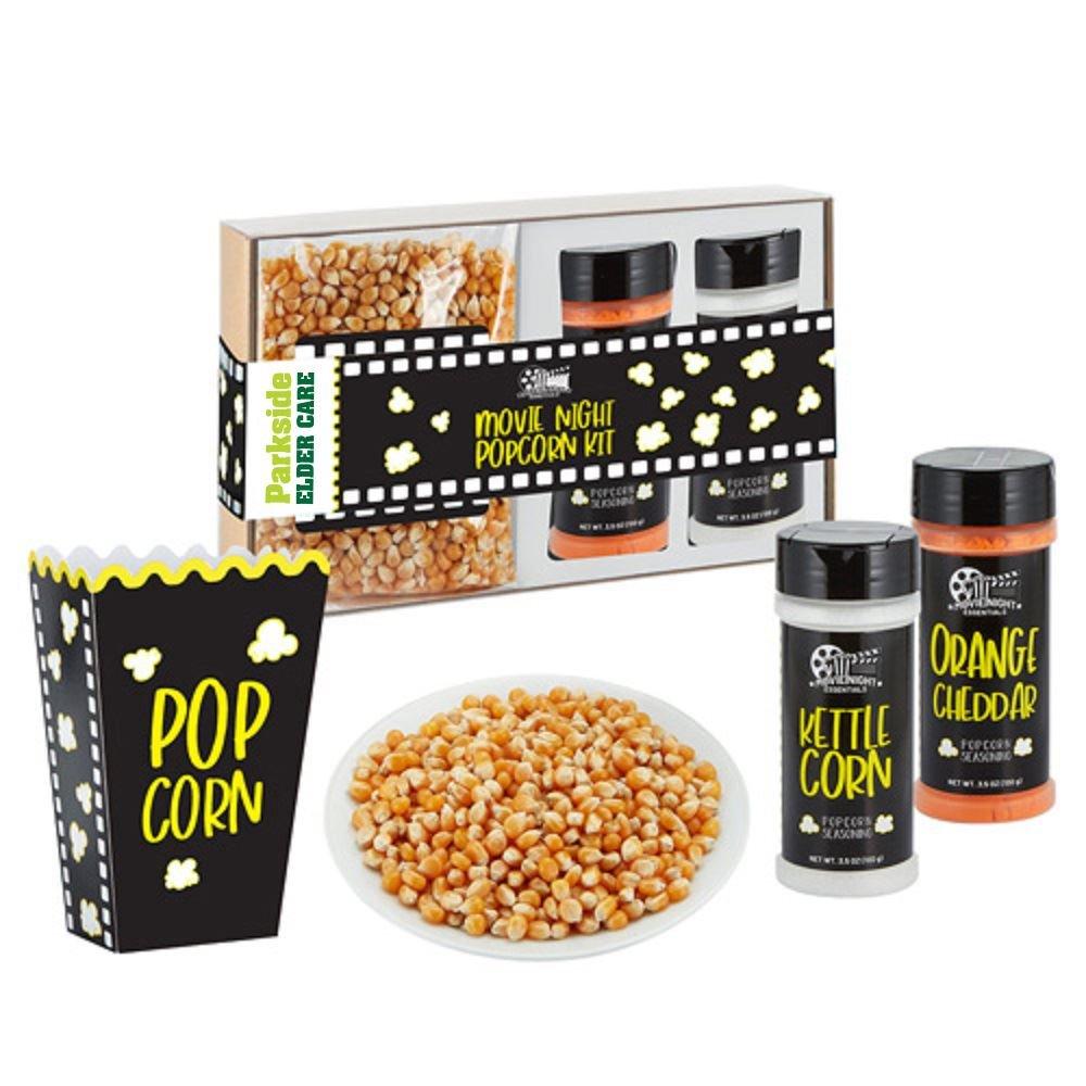 Popcorn Seasoning Kits - Full Color