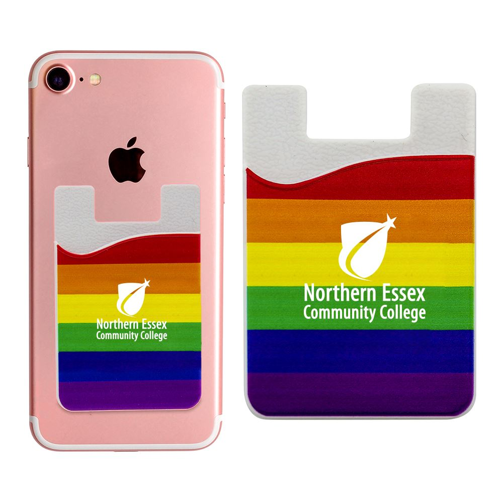 Rainbow Phone Wallet - Personalization Available