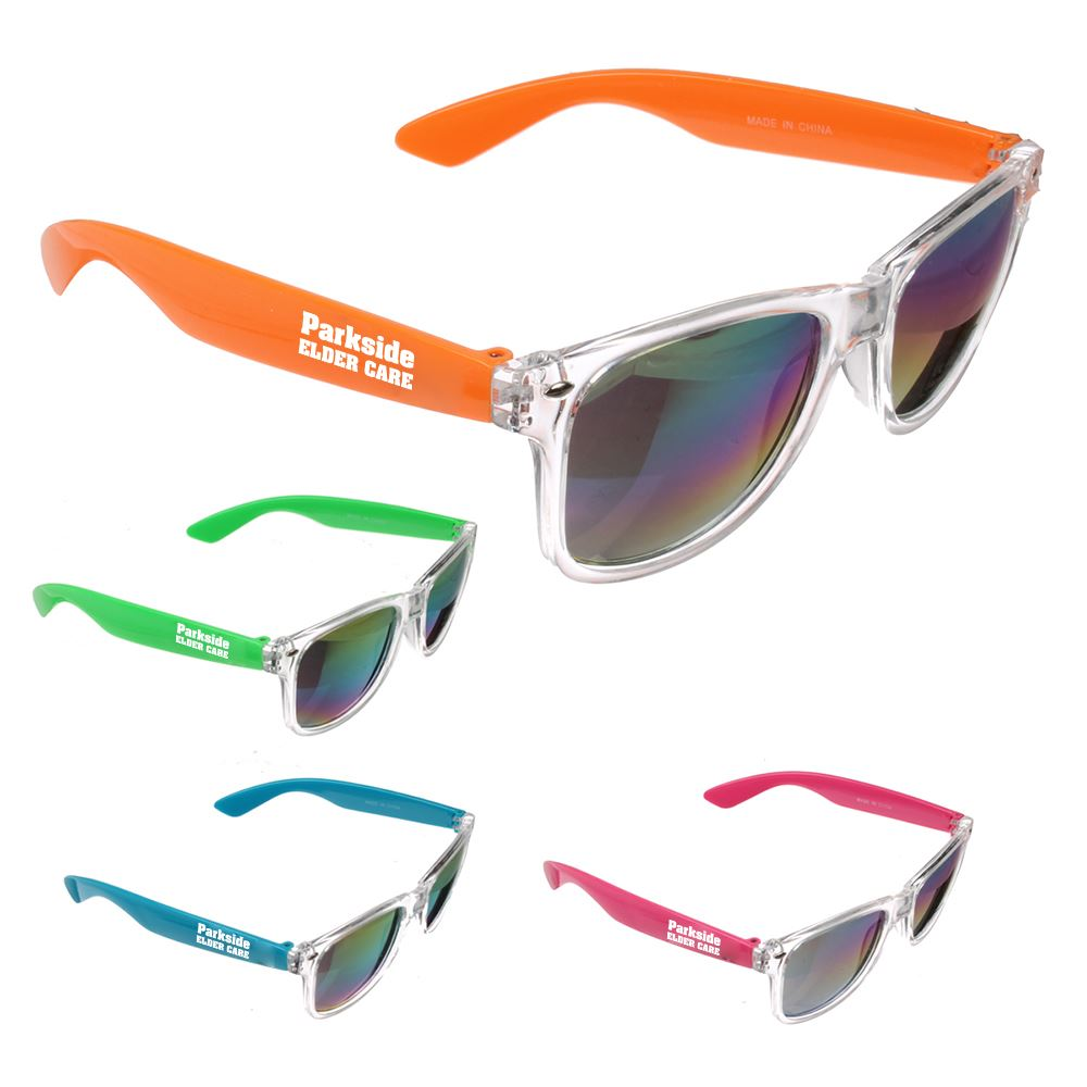 Rainbow Lens Sunglasses - Personalization Available