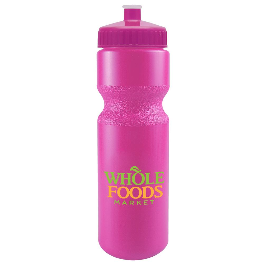 Tall Journey Bike Water Bottle with Push Pull Lid - 28 oz.- Personalization Available