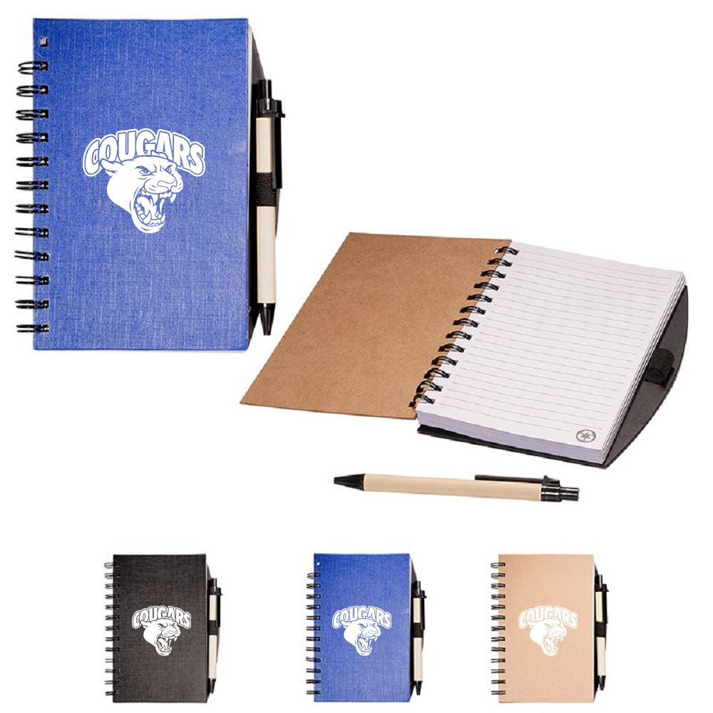 Eco Easy Notebook and Pen Combo - Personalization Available