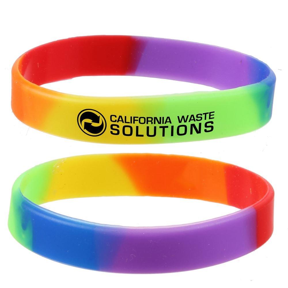 Rainbow Wristband - Personalization Available