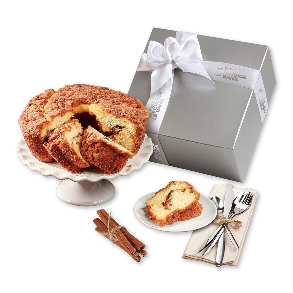 Gourmet Cinnamon Walnut Coffee Cake