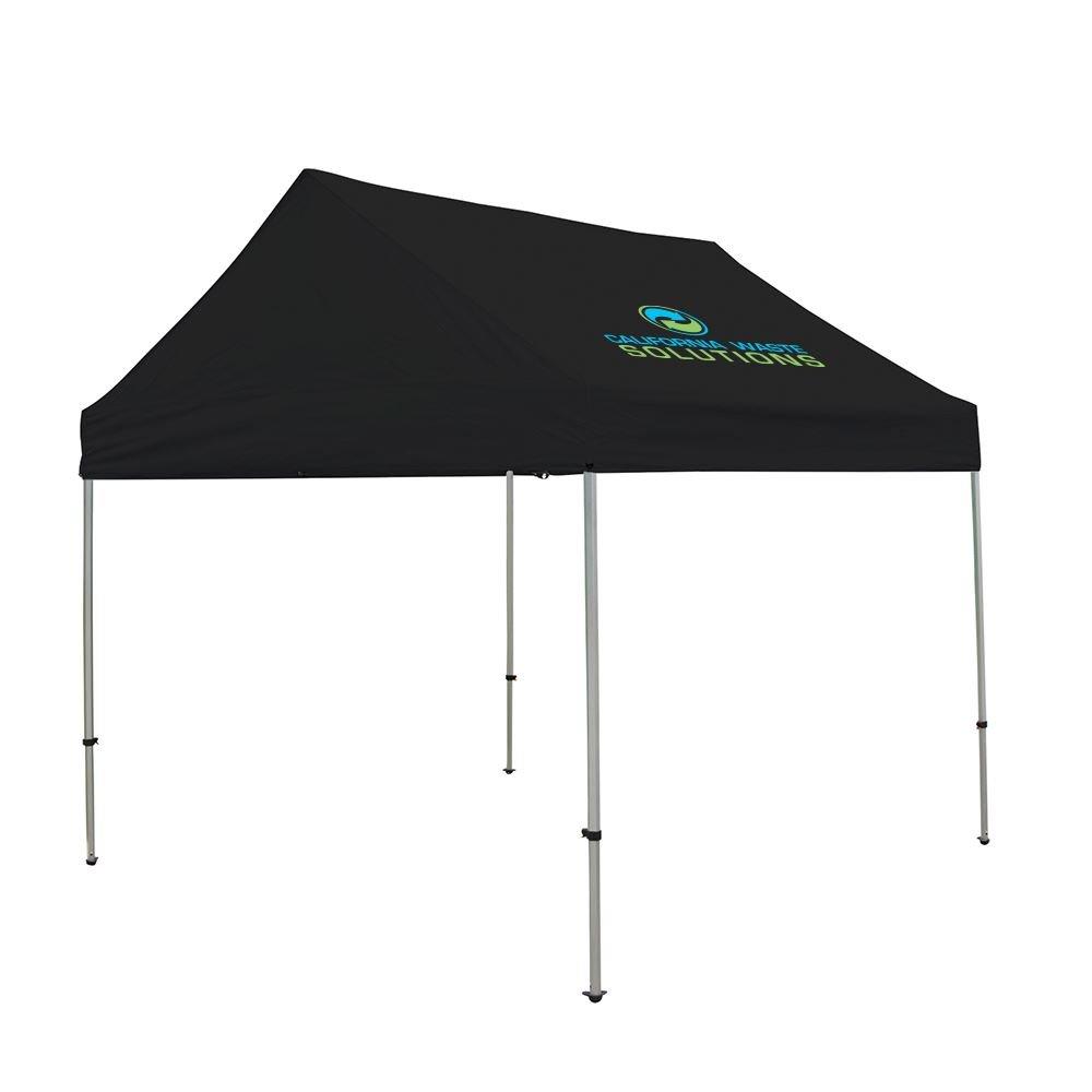 10' Premium Gable Tent Kit (Full-Color Imprint, 1 Location)