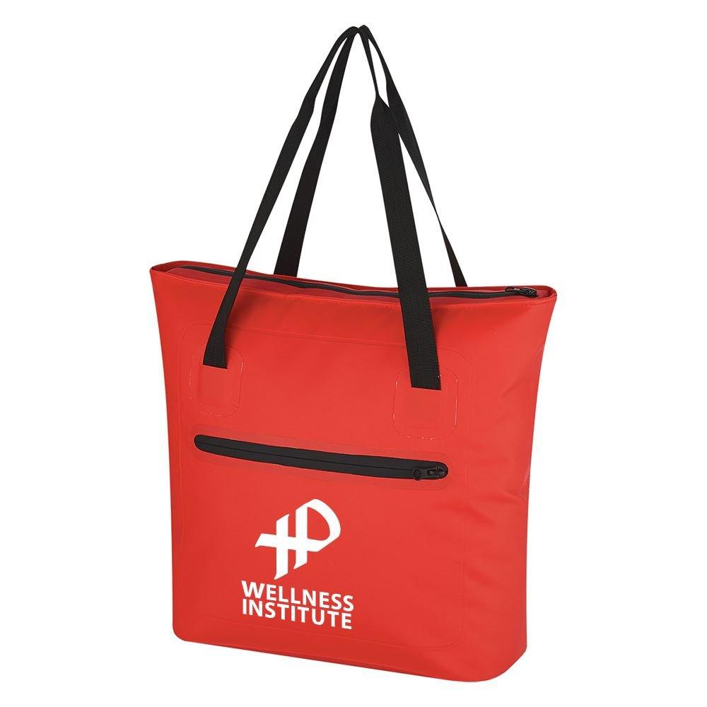 Water-Resistant Zipper Tote Bag
