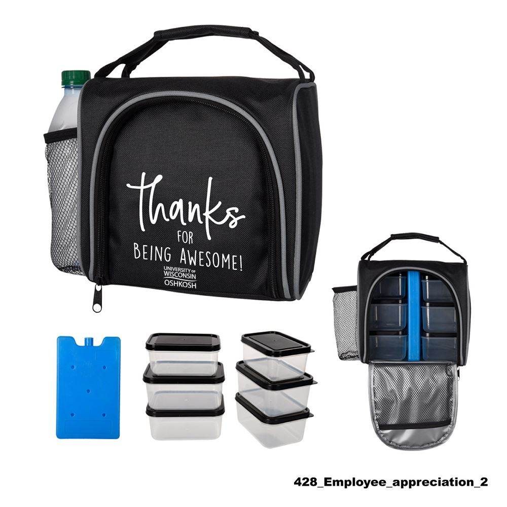 Teachers Appreciation Prep and Chill Lunch Cooler With Container Set