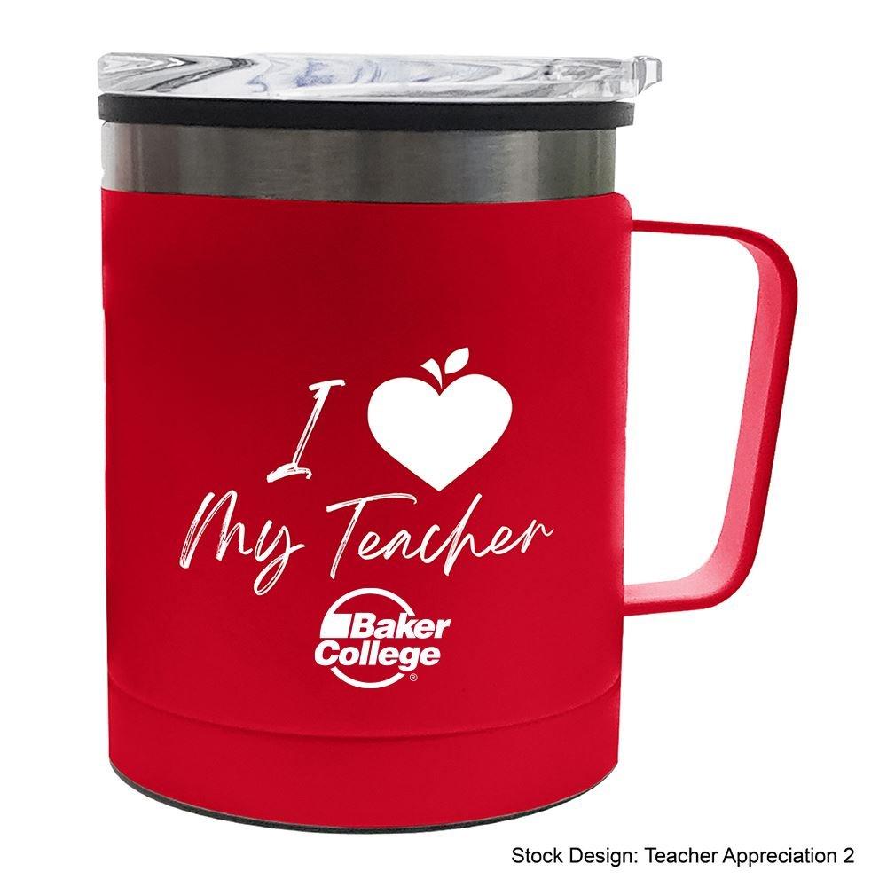 Teachers Appreciation Braxton Stainless Steel Mug 12 Oz