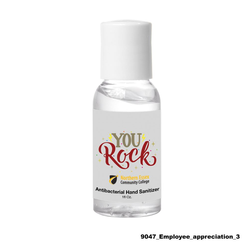 Teachers Appreciation Hand Sanitizer 1 oz - Full Color