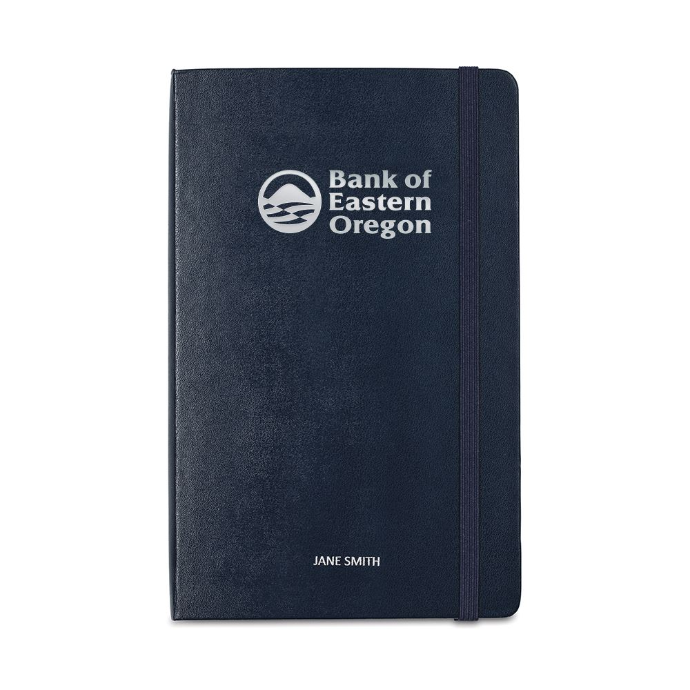 Moleskine Hard Cover Large Double Layout Notebook