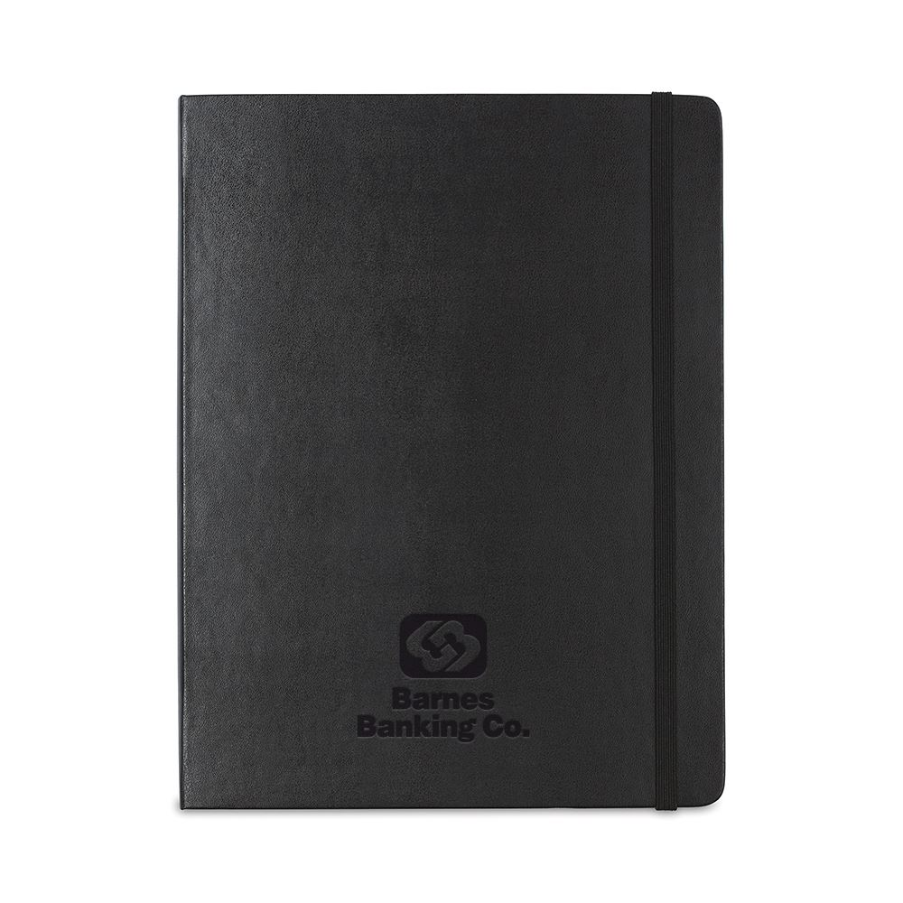 Moleskine Hard Cover X-Large Double Layout Notebook
