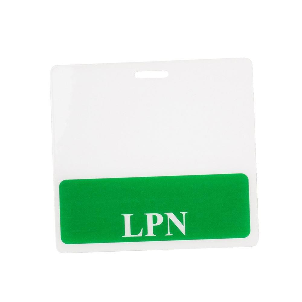 Licensed Practical Nurse Position Badge Buddies Horizontal