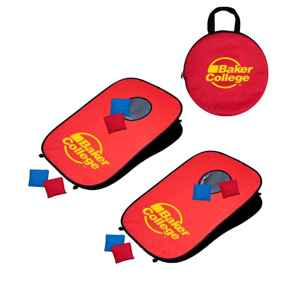 Portable Pop-Up Cornhole Set