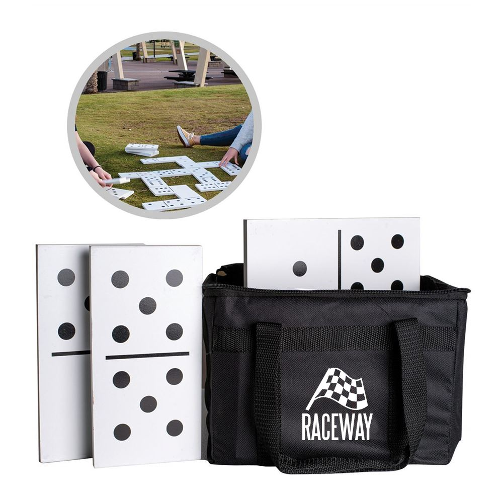 Giant Dominoes Game Set - Personalization Available