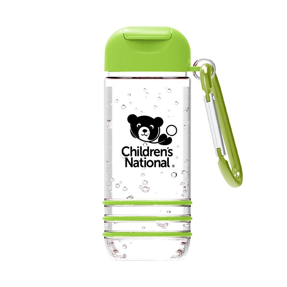 Color Burst Hand Sanitizer with Carabiner 1 oz.