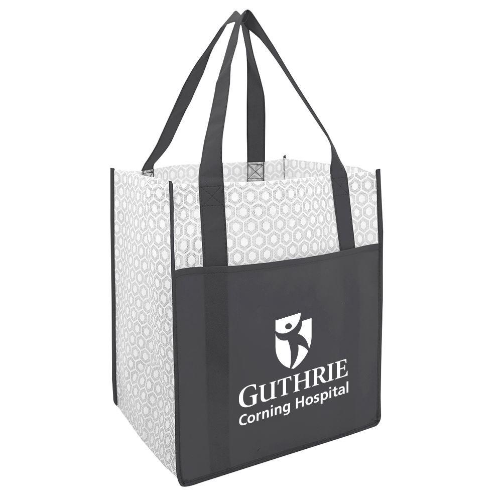 Boutique Non-Woven Shopper Tote Bag