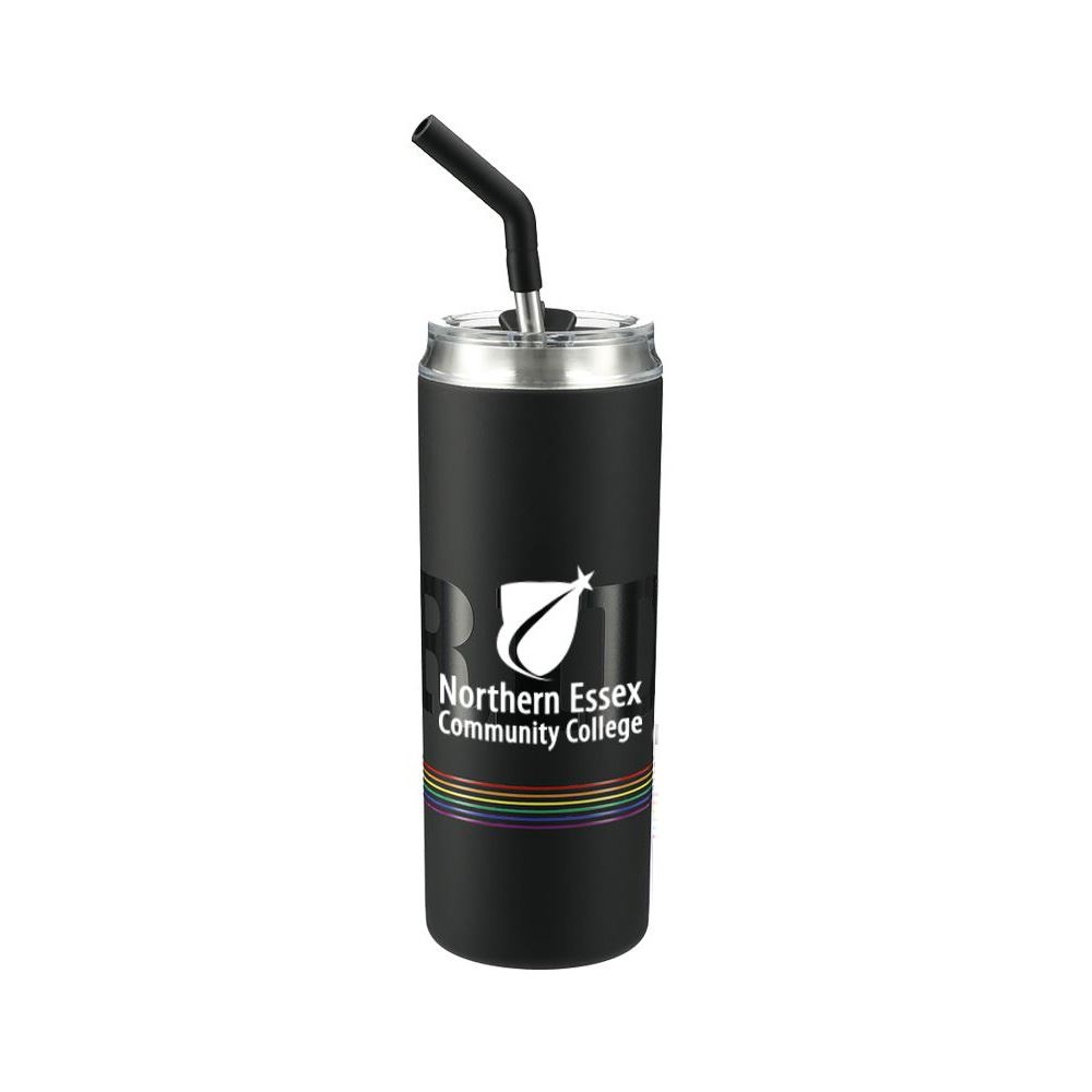 Marka Copper Vac Tumbler w/SS straw 20oz Pride Patter