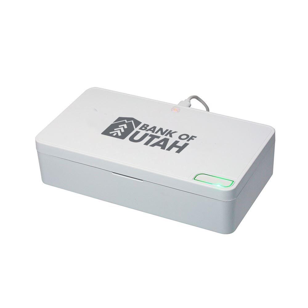 5W Wireless Charging (Exterior) UV Light UVC Sanitizing Box