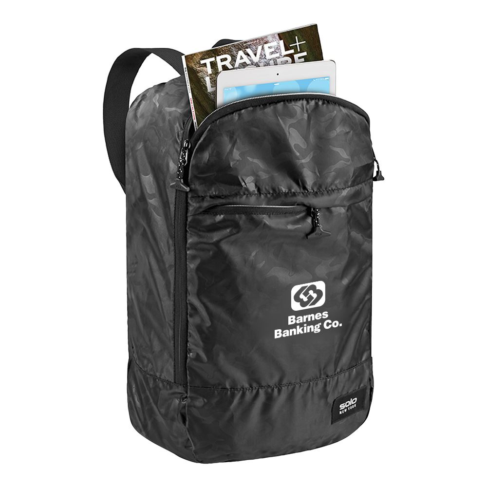 Solo Ultra Lightweight Packable Travel Backpack