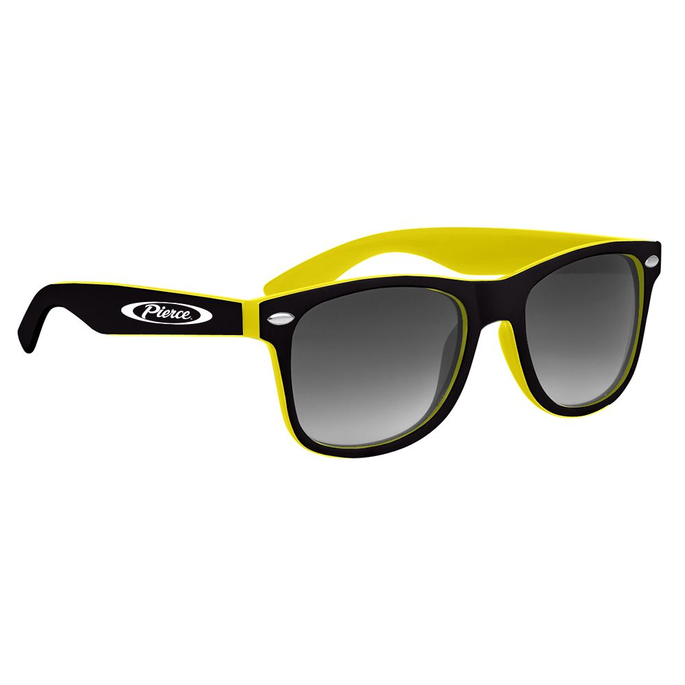 Sunny Days Two-Tone Sunglasses