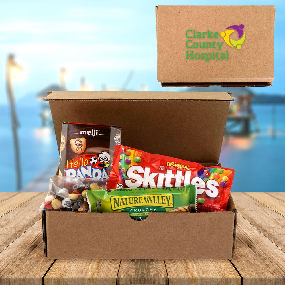 Virtual Meeting Munchies - Full Color Personalization Available