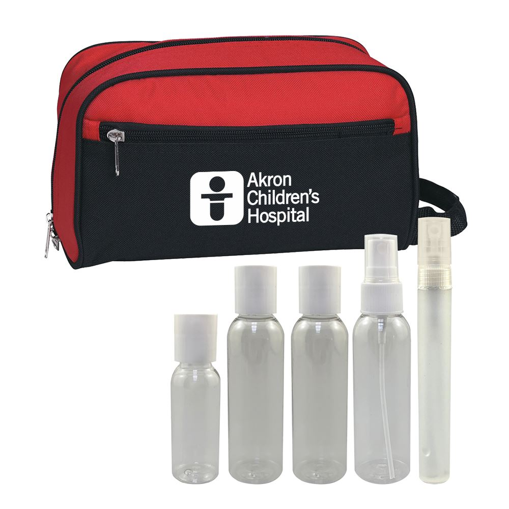5 Piece Travel Essentials Kit - Personalization Available