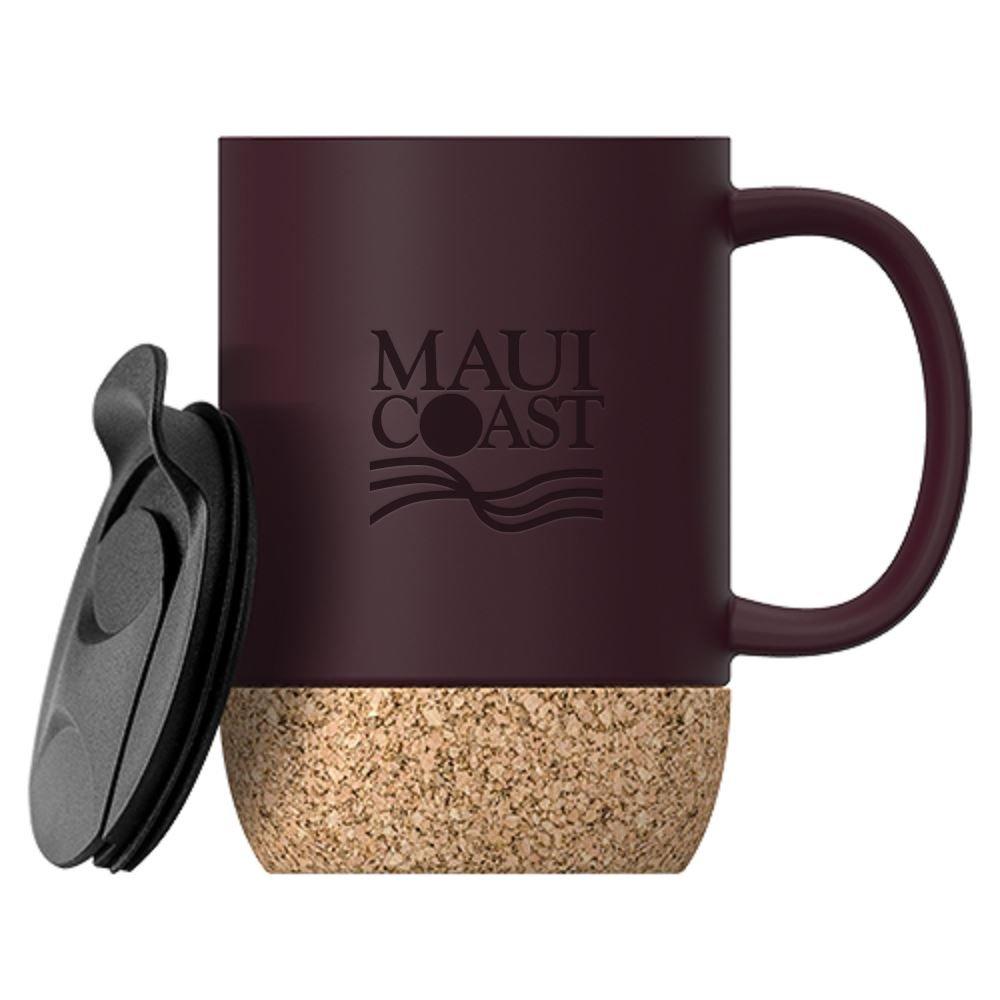 Cork Ceramic Mug - Personalization Available