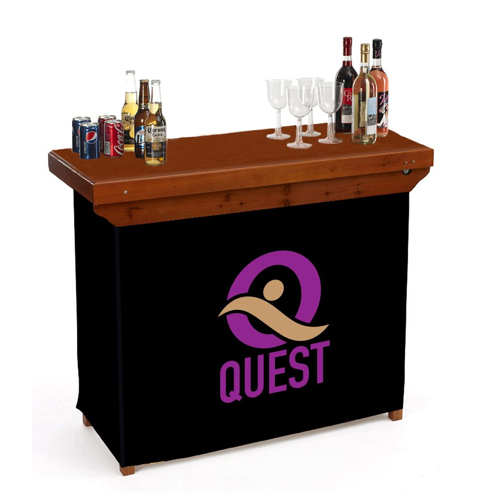 Portable Bar - Full Color Personalization Available