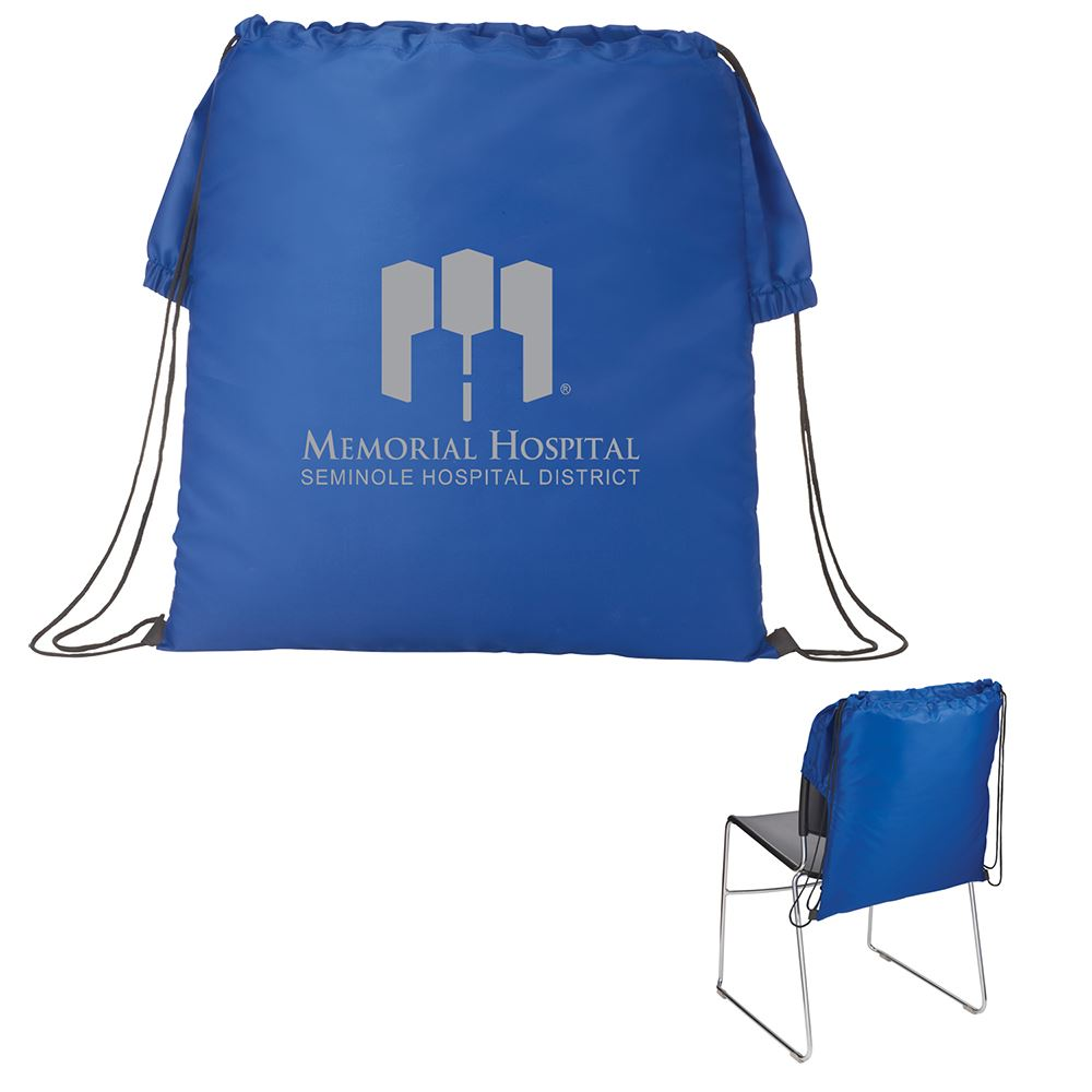 BackSac Drawstring Chair Cover - Personalization Available