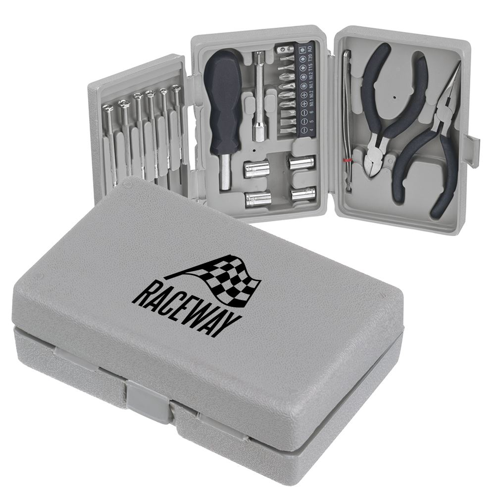 26-Piece Deluxe Tool Kit - Personalization Available