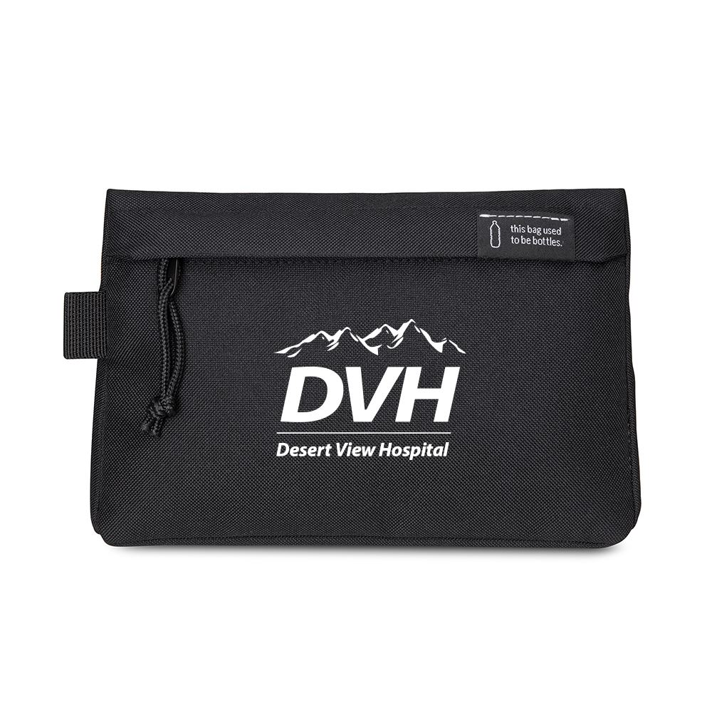 Renew rPET Zippered Pouch - Personalization Available