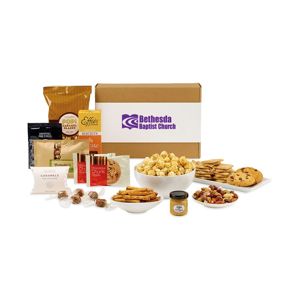 Artisan Gourmet Gift Box - Large - Personalization Available