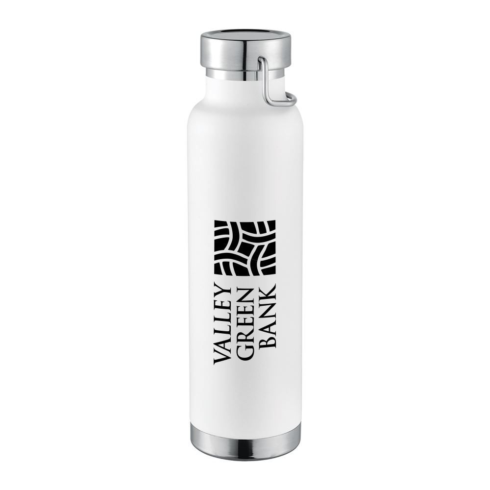 Thor Copper Vacuum Insulated Bottle 22 oz - Personalization Available