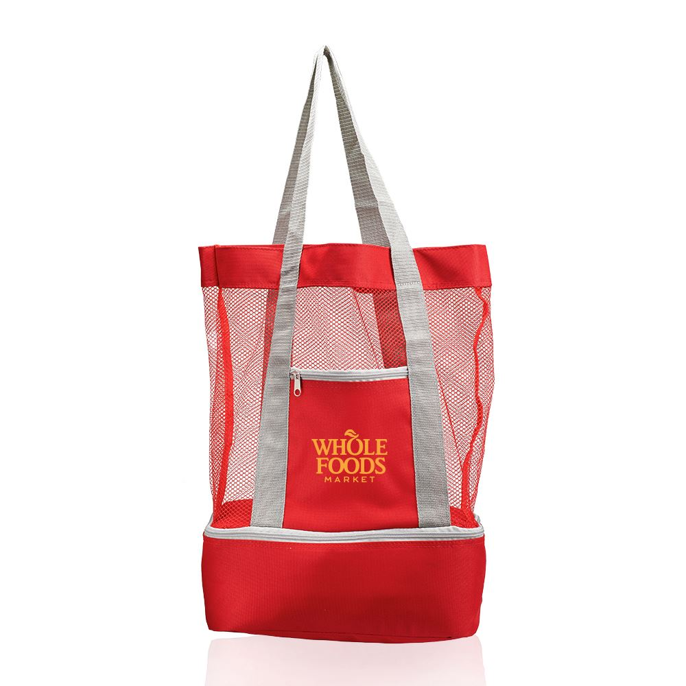 Mesh Cooler Tote Bag - Personalization Available