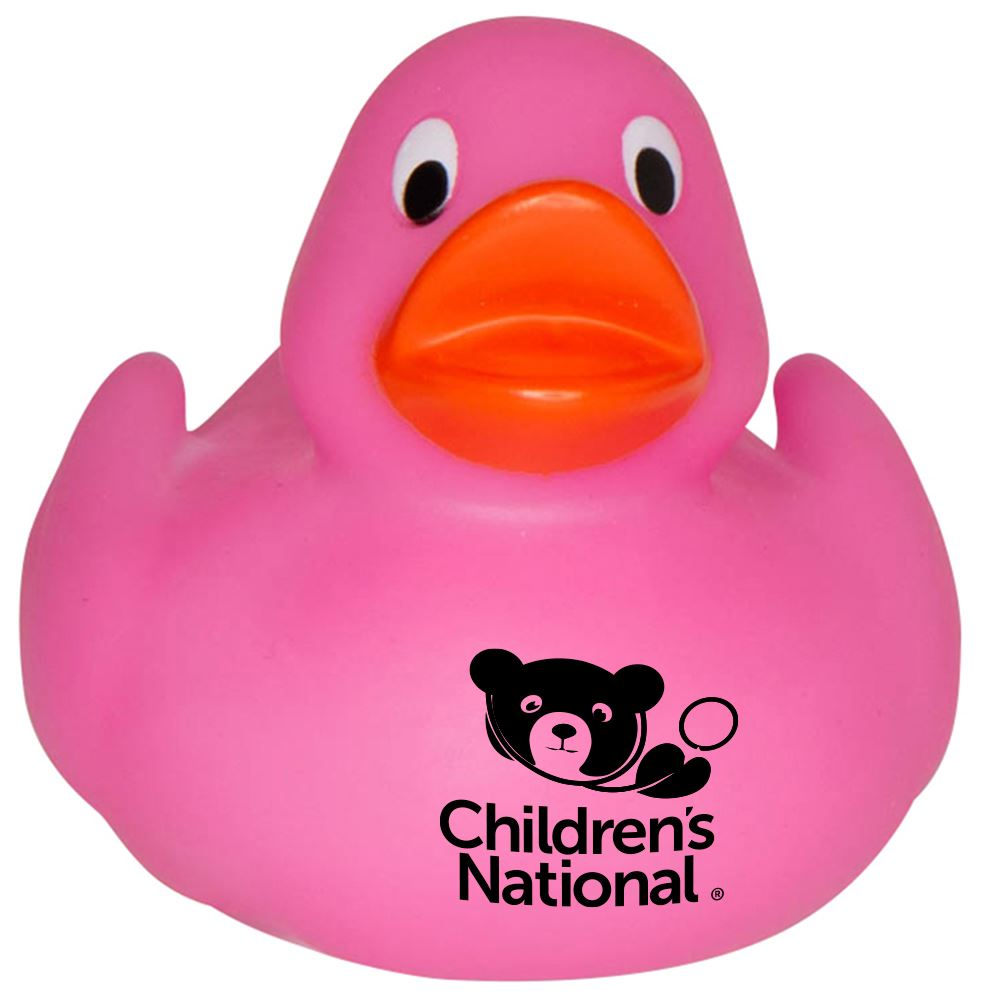 Pink Lil Rubber Duck - Personalization Available