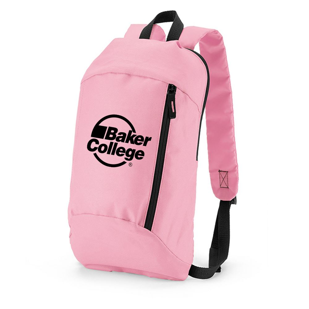 Pink Budget Backpack - Personalization Available
