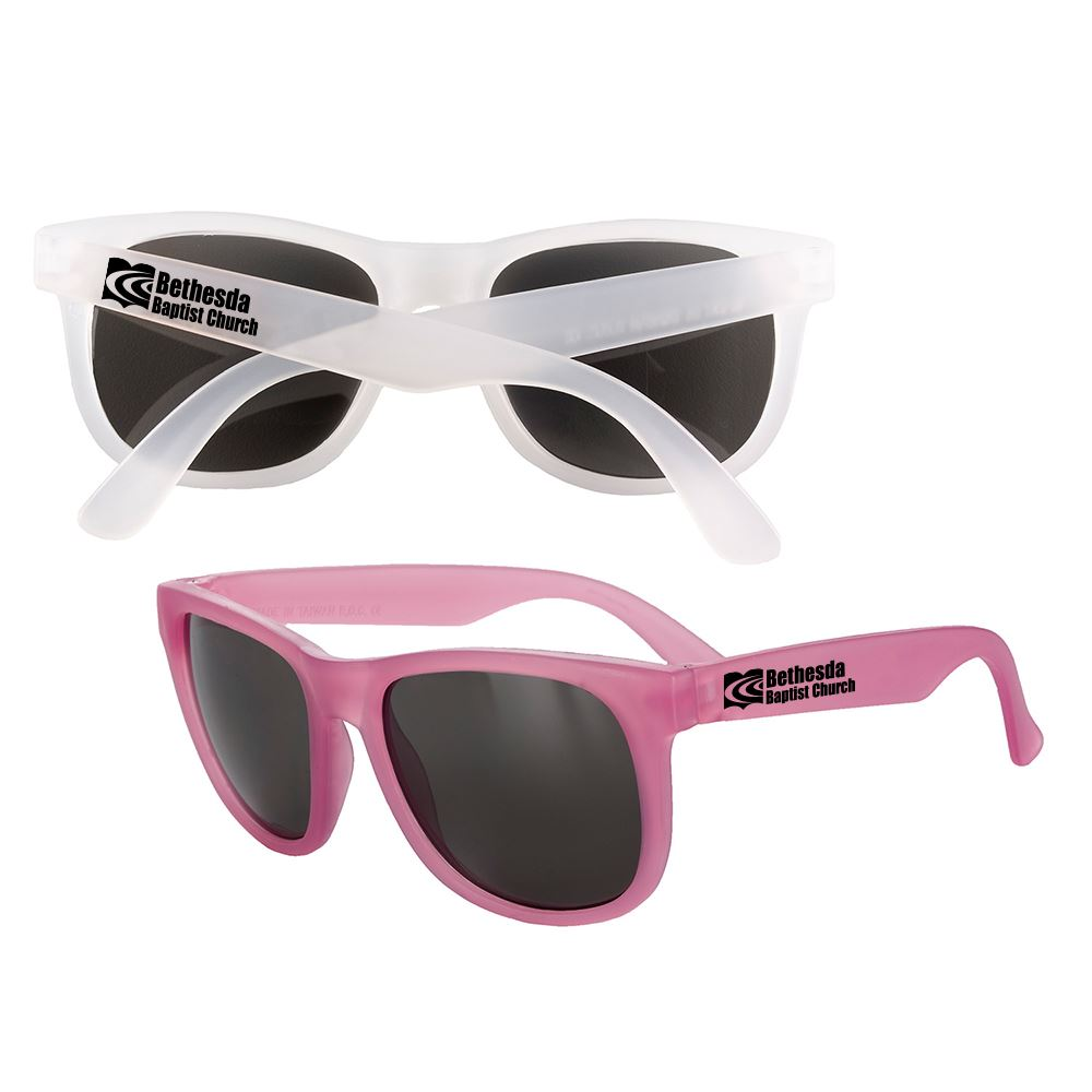 Pink Mood Sunglasses - Personalization Available