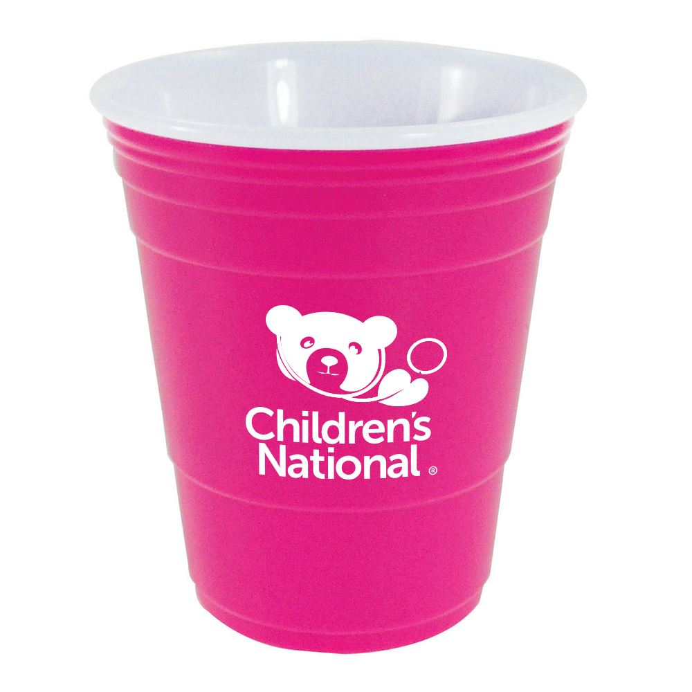 Pink Awareness Cup-16 oz - Personalization Available