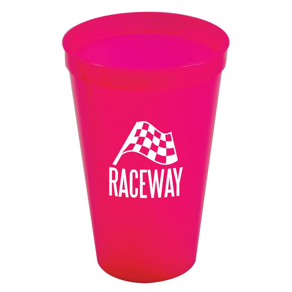 Pink Stadium Cup 20 oz - Personalization Available