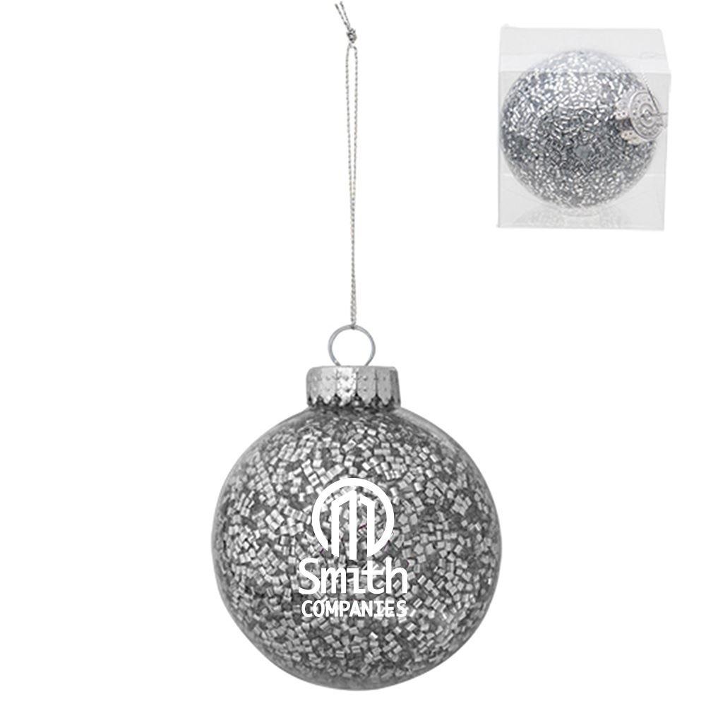 Holiday Glitz Ornament - Personalization Available