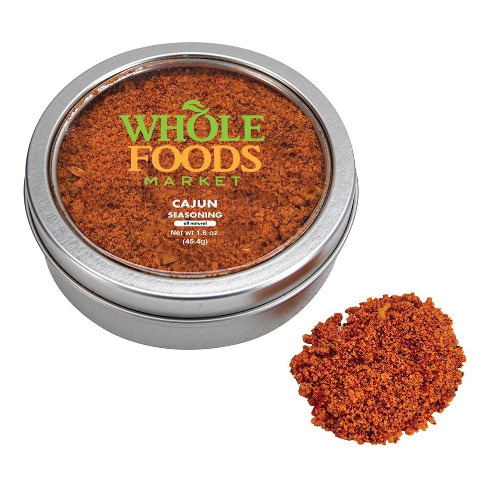 Gourmet Cajun Seasoning Spice Tin - Personalization Available