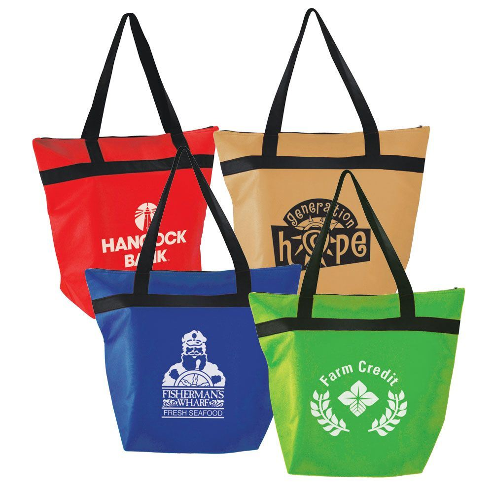 Insulated Shopper Tote - Personalization Available