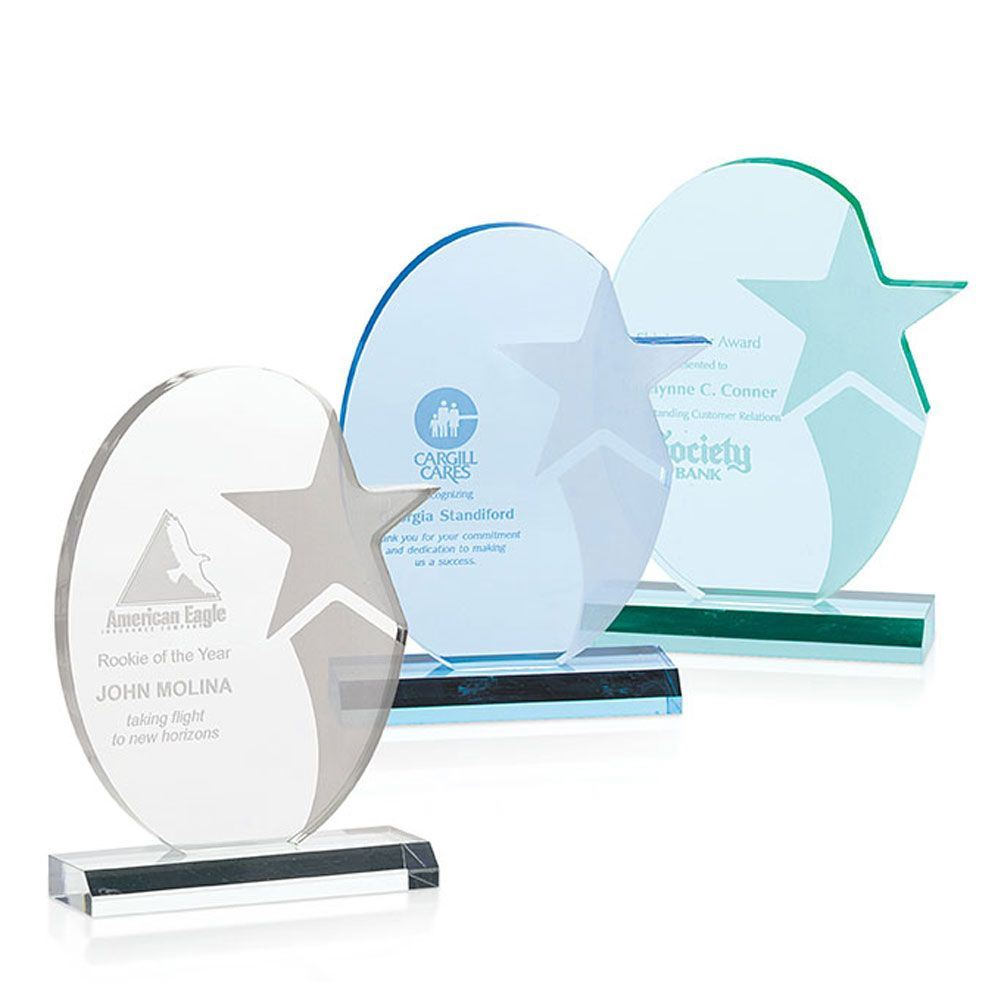 Stellar Shooting Star Award - Personalization Available