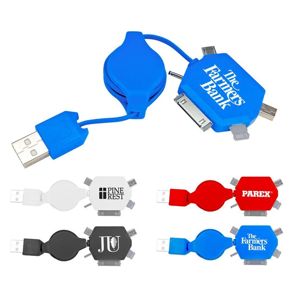 5-in-1 Charging Cable - Personalization Available