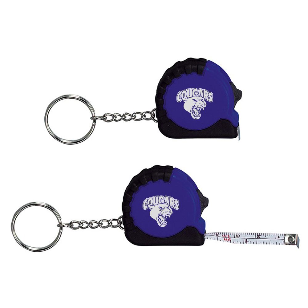 3 1/4 Ft. Mini Tape Measure / Keychain - Personalization Available