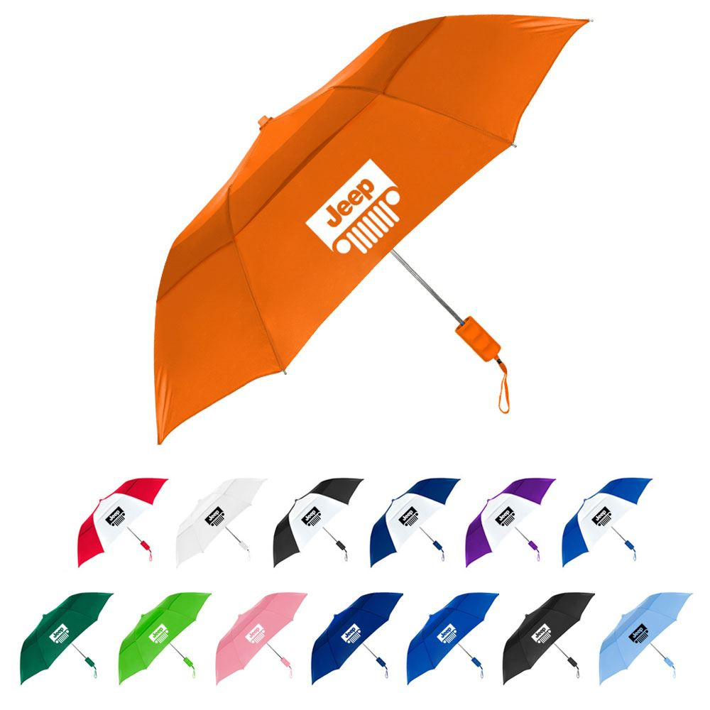 The Vented Windproof Umbrella - Personalization Available