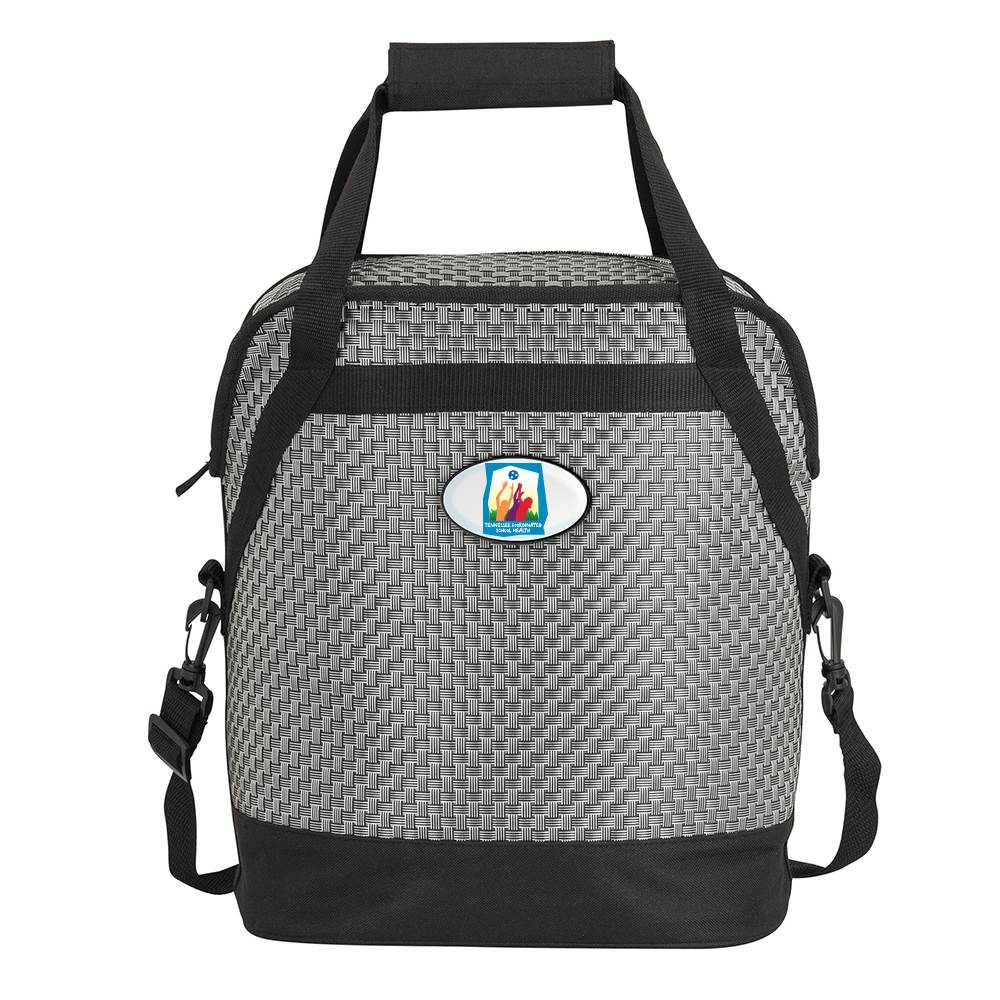 Woven Cooler Bag - Full-Color Personalization Available